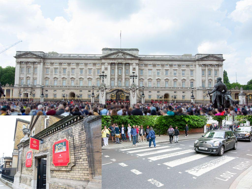 バッキンガム宮殿, 衛兵交代式, ロイヤル ミューズ, UKロックツアー(アビーロード), イギリス, ロンドン, 旅行