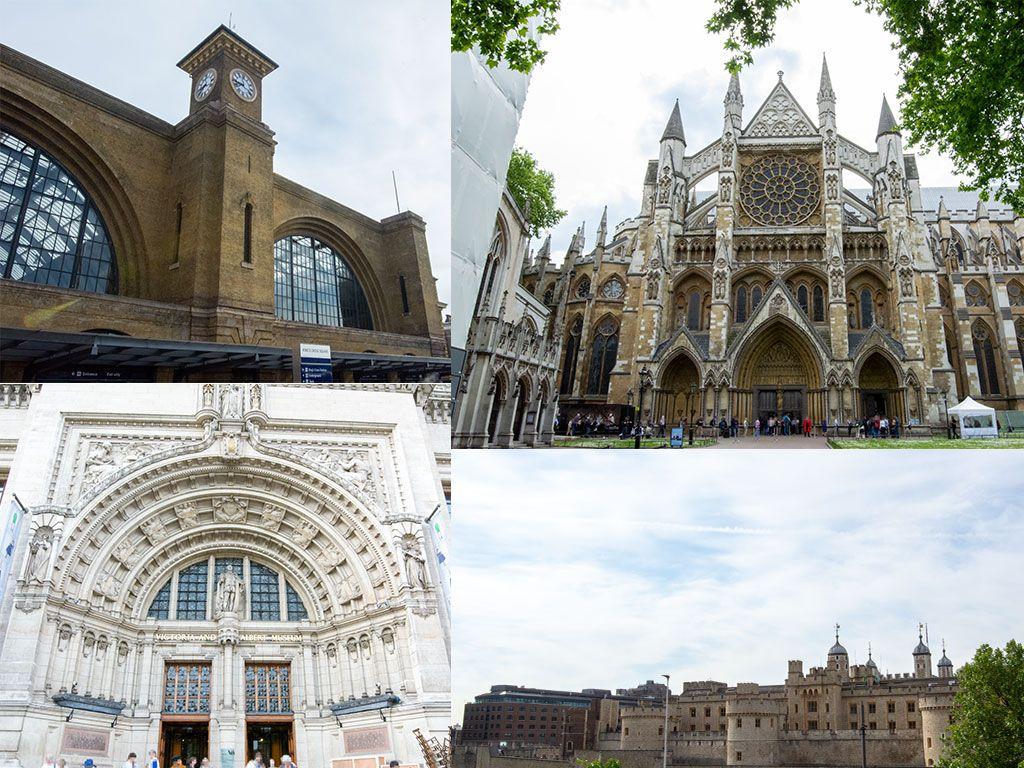 キングス・クロス駅, ロンドン塔, ウェストミンスター寺院, ヴィクトリア&アルバート博物館, イギリス, ロンドン, 旅行