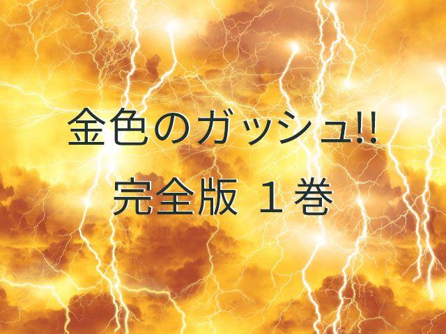 金色のガッシュ!! 完全版 1