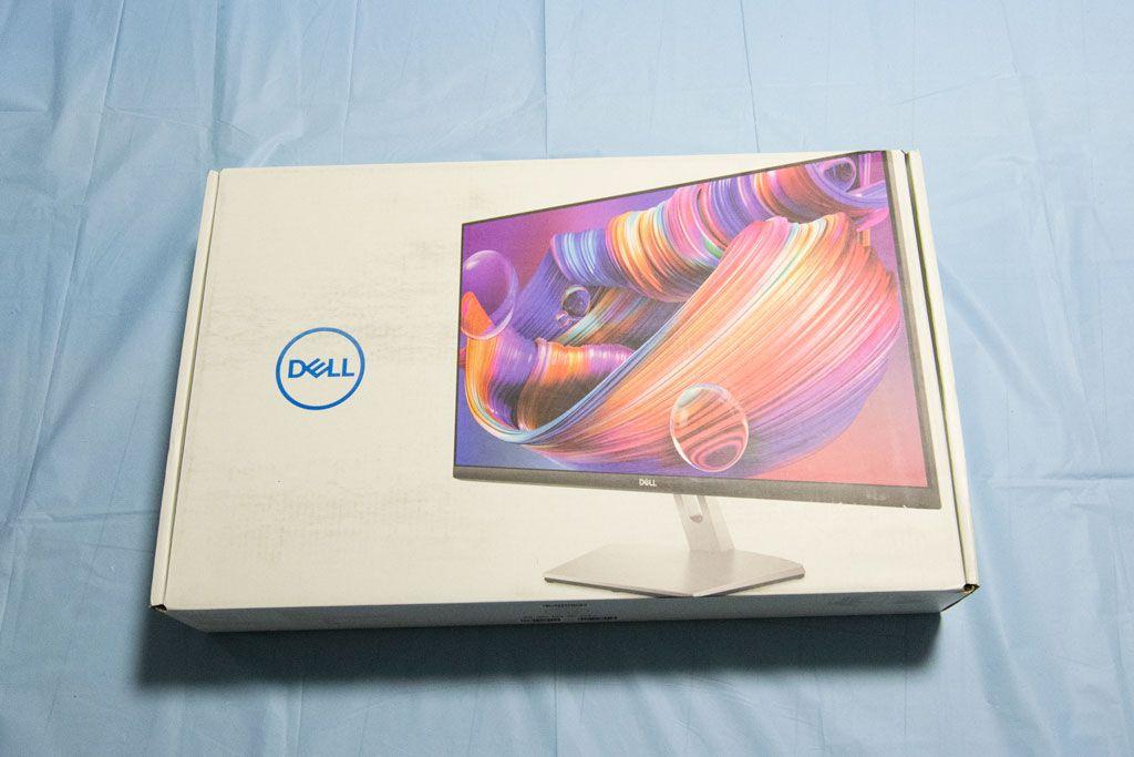 S2721Q, 27インチ, Dell, モニター, パッケージ