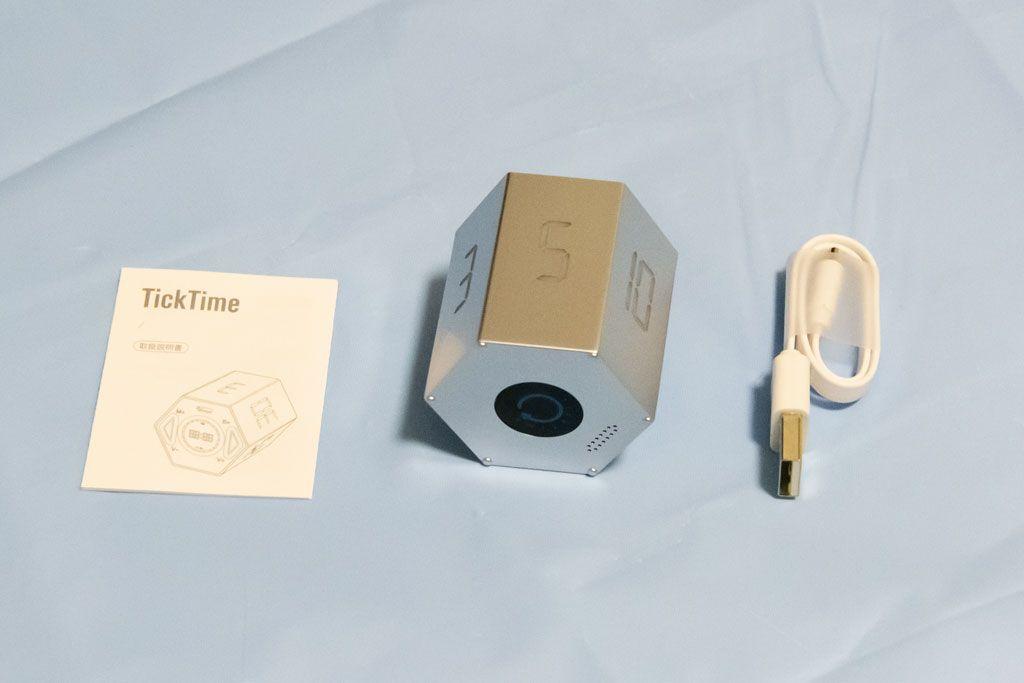 TickTime, デジタルタイマー, 梱包品